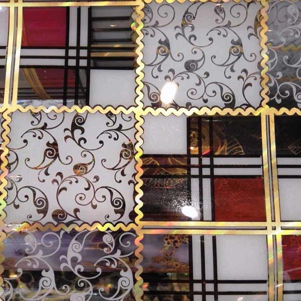Pvc Pattern Transparent Film