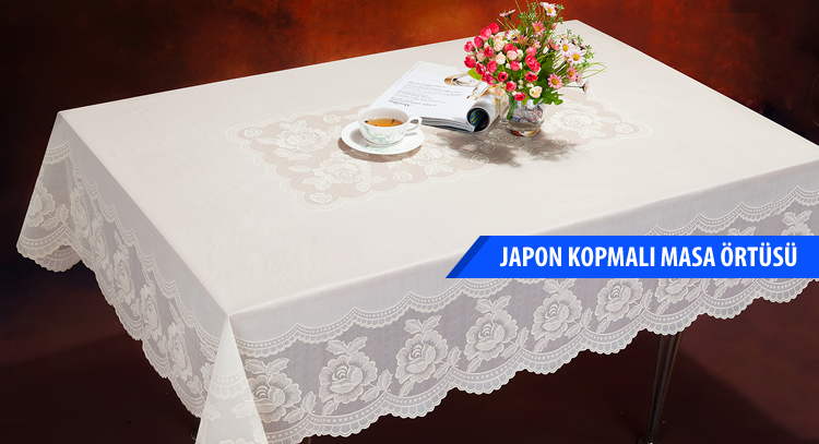 Japanese Cracked Tablecloth